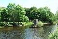Railway bridge piers - geograph.org.uk - 1671485.jpg