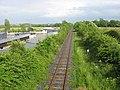Railway line at Lougher - geograph.org.uk - 848859.jpg