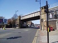 Railway overbridge, Welling, Kent - geograph.org.uk - 147665.jpg