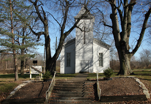Rainsville, Indiana - Image: Rainsville Community Church, Rainsville, Indiana