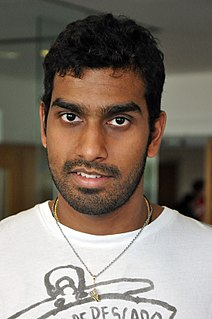 Rajiv Ouseph English badminton player