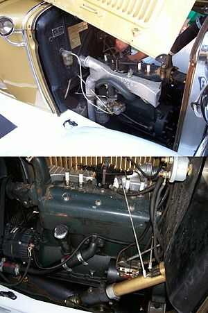 Ramblin' Wreck - The Ramblin' Wreck motor, built in October 1929