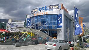 Ramstore Shoping Center In Tetovo Republic Of Macedonia