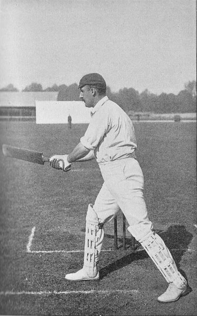 Ranji 1897 page 223 Lord Hawke cutting.jpg