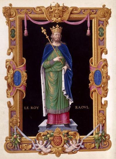 Raúl de Borgoña.