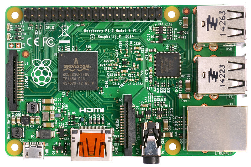 File:Raspberry Pi 2 Model B v1.1 top new (bg cut out).jpg