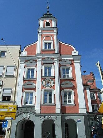 Eggenfelden - Old town hall Eggenfelden