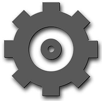 Machinery Technician - Image: Rating Badge EN