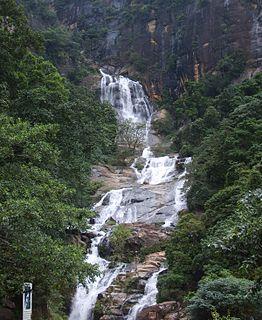 Ravana Falls waterfall