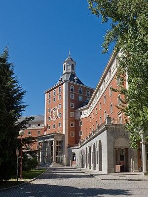 Complutense University of Madrid cover