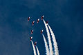 Red Arrows display at Portsmouth in July 2008 7.jpg