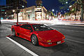 Red Lamborghini Diablo at night (15624858200).jpg