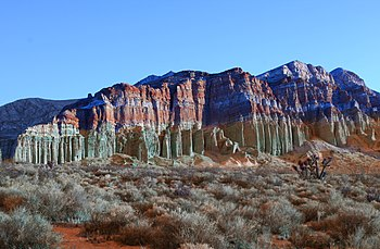 Red Rock Canyon State Park (California) - Wikipedia