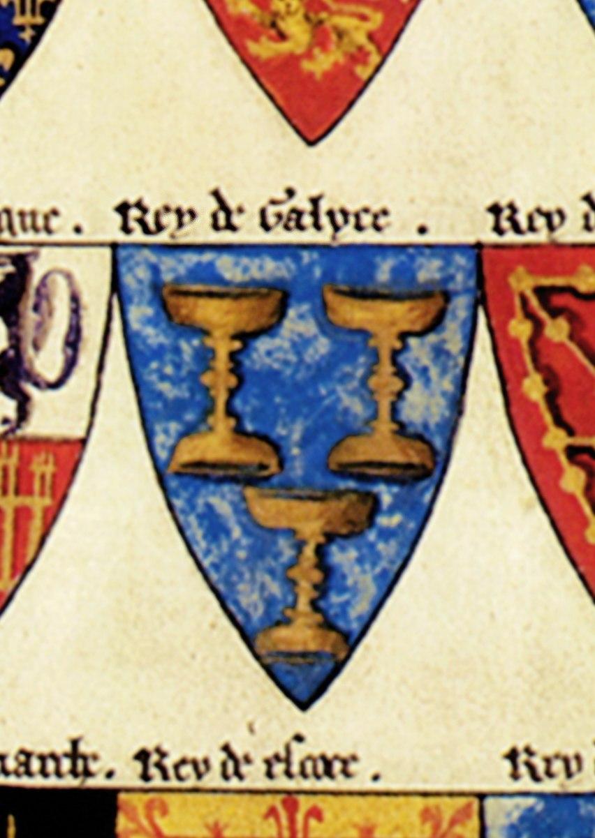 Reino de Galicia - Kingdom of Galicia - Segars Roll
