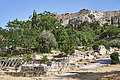 Remains of the Late Roman Wall of Athens in Ancient Agora on 25 May 2021.jpg