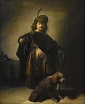 Rembrandt (1606-1669) Zelfportret in oriëntaalse kledij (1631) Petit Palais Parijs 23-8-2017 17-13-35.jpg