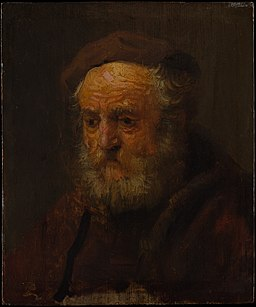 Rembrandt - Portrait of an Old Man in a Beret - DP143183