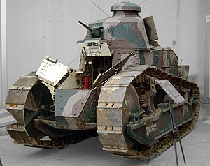 "Tanks in France - The Renault FT, the first ""modern"" tank to enter production"