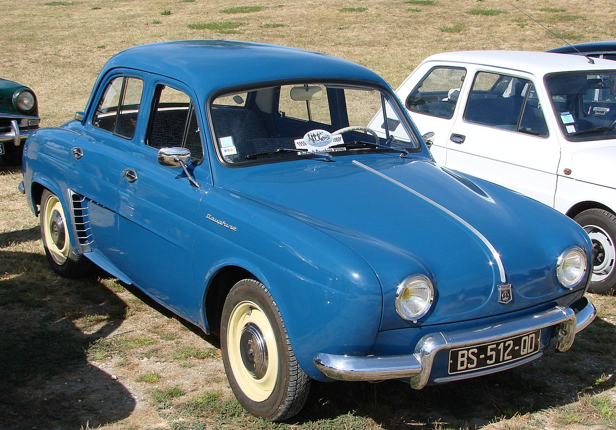 renault dauphine wikipedia. Black Bedroom Furniture Sets. Home Design Ideas