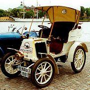 Voiturette Renault Type D Série B de 1901
