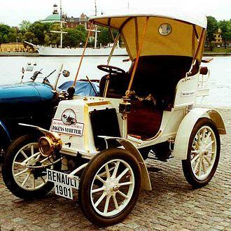 Renault - 1901 Voiturette Renault Type D Série B
