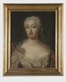 Reuterholm, okänd kvinnlig medlem av släkten (Lorens Pasch d.ä.) - Nationalmuseum - 38894.tif