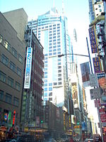 Reuters Building at Times Square, Manhattan