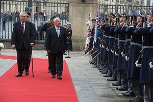Czech Republic–Israel relations - Reuven Rivlin's visit to Czech Republic, October 2015