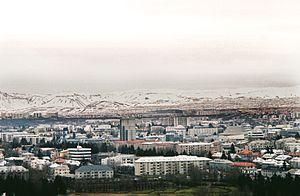 Reykjavik from Hallgrimskikrja