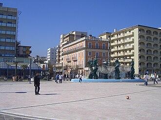 Riccione - Piazzale Roma in Riccione.