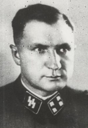 Richard Baer - Richard Baer, camp commandant at Dora-Mittelbau