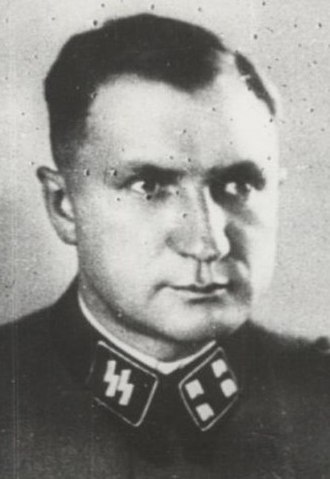 Frankfurt Auschwitz trials - Richard Baer, camp commandant at Dora-Mittelbau