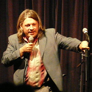 Richard Herring - Herring during the final performance of As It Occurs To Me in 2011