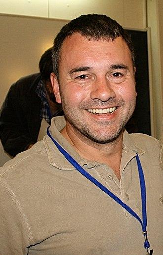 Richard K. Morgan - Morgan in Zagreb at SFeraKon, 2008