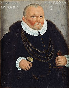 Richard, Pfalz-Simmern, Pfalzgraf