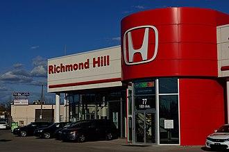 Honda Canada Inc. - Honda dealership in Richmond Hill, Ontario