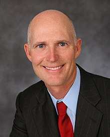 Portrait officiel de Rick Scott