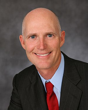 300px Rickscotthead FL Gov. Rick Scott Plans to Spend $100 Million on Reelection, Voters Should Run From Him in Droves