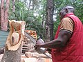 Right Mukore carving a tree into a woman lifting a heart at Montebello Bibiloucapetown Essay Photo 8 IMG 0909 ok.jpg