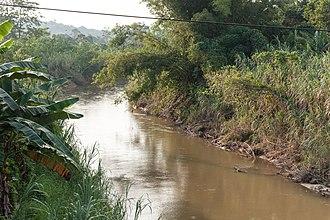 Sipitang District - Image: Rivers Of Sabah Sungai Lukutan 02