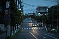 Road in evening, Nishiaraicho, Tokorozawa.jpg