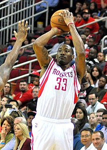 Robert Covington of the Houston Rockets (2013).jpg