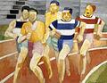 Robert Delaunay, Les coureurs, 1924.jpg