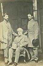Robert E. Lee, G. W. Custis Lee, & Walter H. Taylor