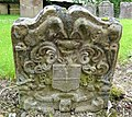 Robert Rellie & Jane Murdoch. 1766. New Dailly Kirk. Mermaids carved. South Ayrshire.jpg