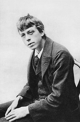 Robert Walser (writer) - Robert Walser around 1900