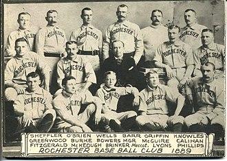 1890 Rochester Broncos season - Rochester Broncos