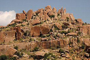 Adoni - Rock formations at Adoni Hills