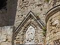 Rodi porta della marina 08 stemma pierre d'aubusson.JPG