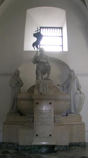 Rodrigo de Bastidas - Monument to Rodrigo de Bastidas Cathedral of Santa Marta